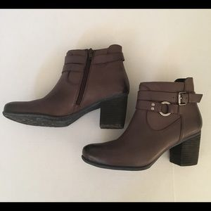Josef Seibel Gray Booties